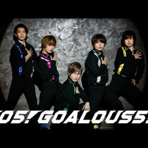 新作MV #GOALOUS5 テーマソングCD|GO5!GOALOUS5!:SPOT / 20191105