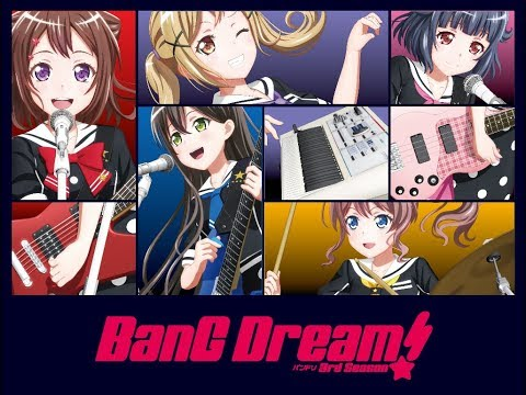 新作ANIME 202001 #BanGDream! 3rd Season / 2020-123 Start