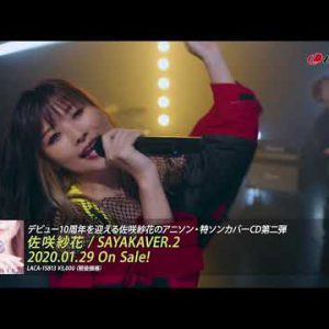 新作MV #佐咲紗花 / Over The Future / 2nd Cover Album SAYAKAVER.2 / 2020-0129