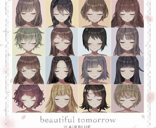 週間 #TOWERanime / 2020年3月30日付 / 1位 #AiRBLUE / beautiful tomorrow
